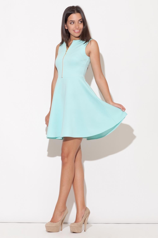 Dámske šaty K098 mint
