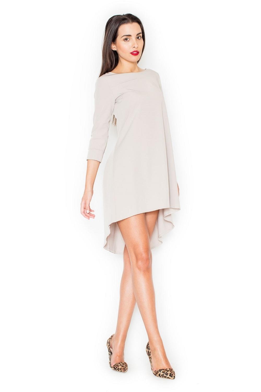 Dámske šaty K141 beige