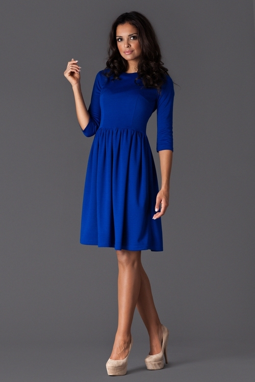 f7b2f23dc Dámske šaty M117 blue | AMIATEX.sk