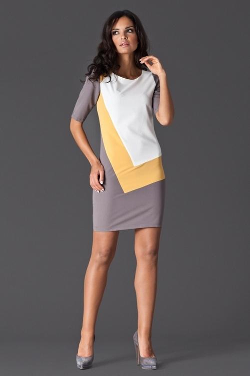 Dámske šaty M118 yellow