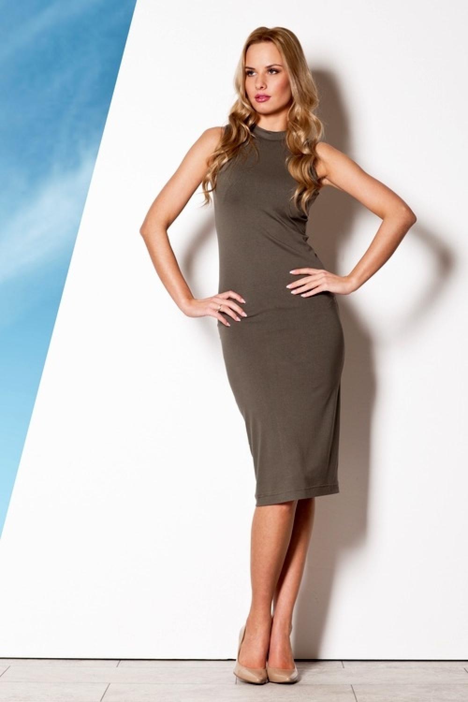 Dámske šaty M263 olive