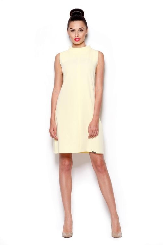 Dámske šaty M299 yellow
