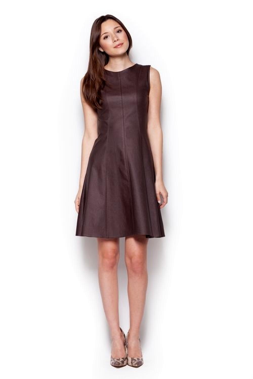 Dámske šaty M342 brown
