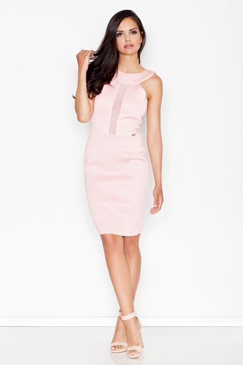 Dámske šaty M372 pink