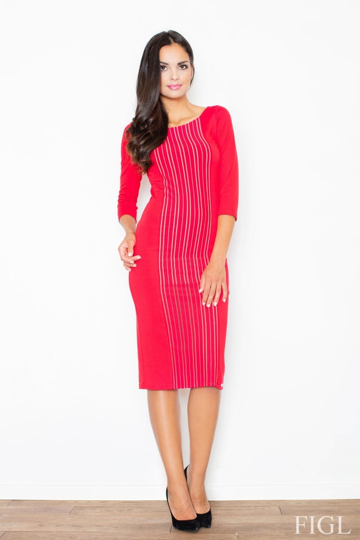 Dámske šaty M411 red