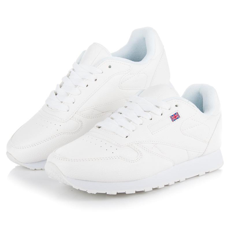 bc2489566ab1 Dámske štýlové biele športové tenisky
