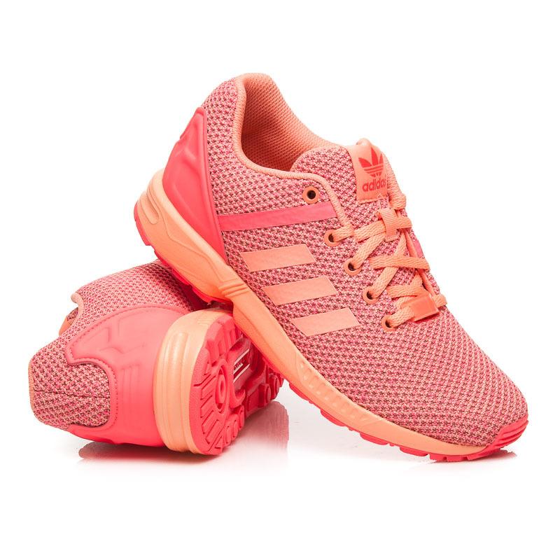 ... Dámske štýlové koralové športové tenisky Adidas ... ed7b720b95d