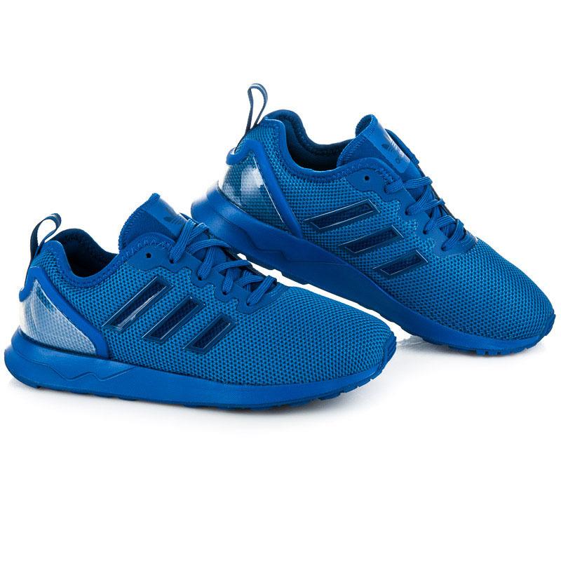 3b8b0ba55642 Dámske štýlové modré športové tenisky Adidas