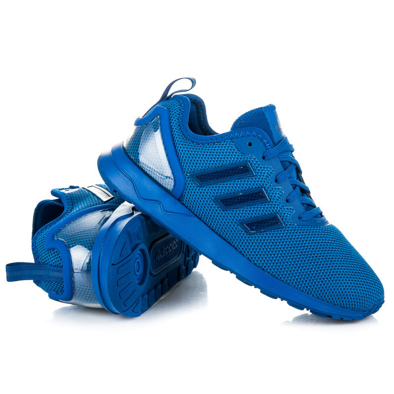 Dámske štýlové modré športové tenisky Adidas  c50e227b43d
