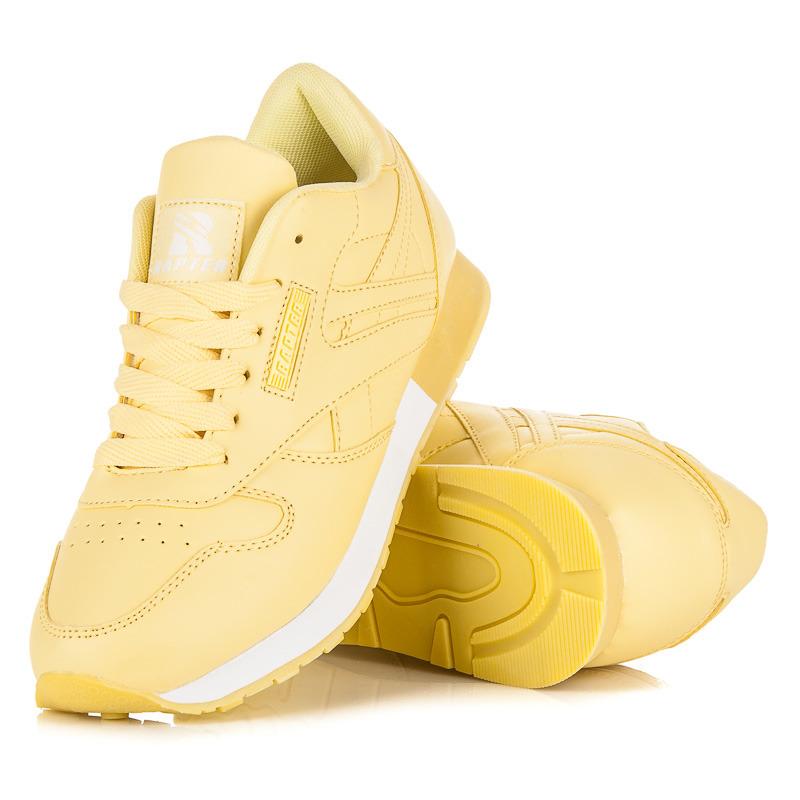 a91755c066e5 Dámske štýlové žlté športové tenisky