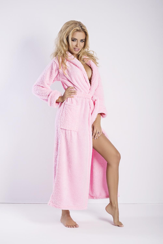Dámsky župan Eliza long pink