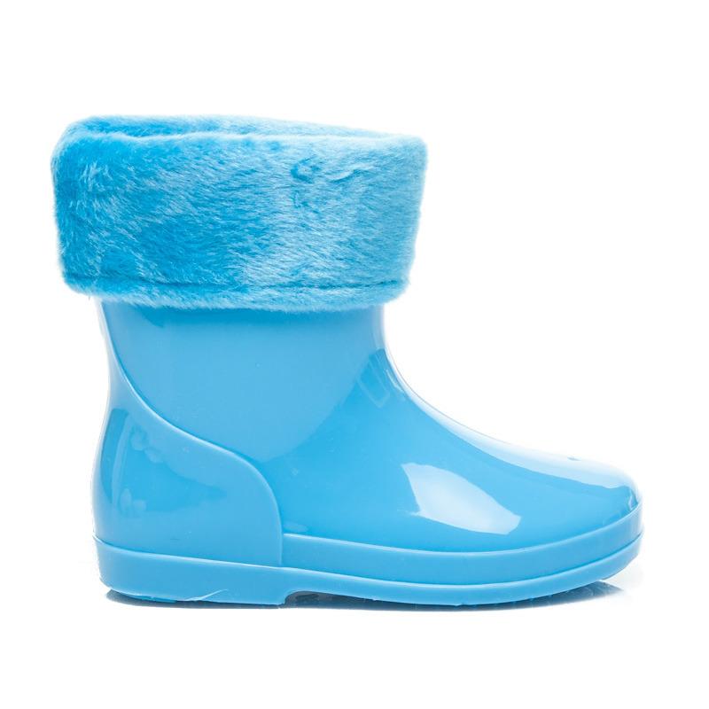 53aec5056c7cc Detské modré teplé čižmy | AMIATEX.sk