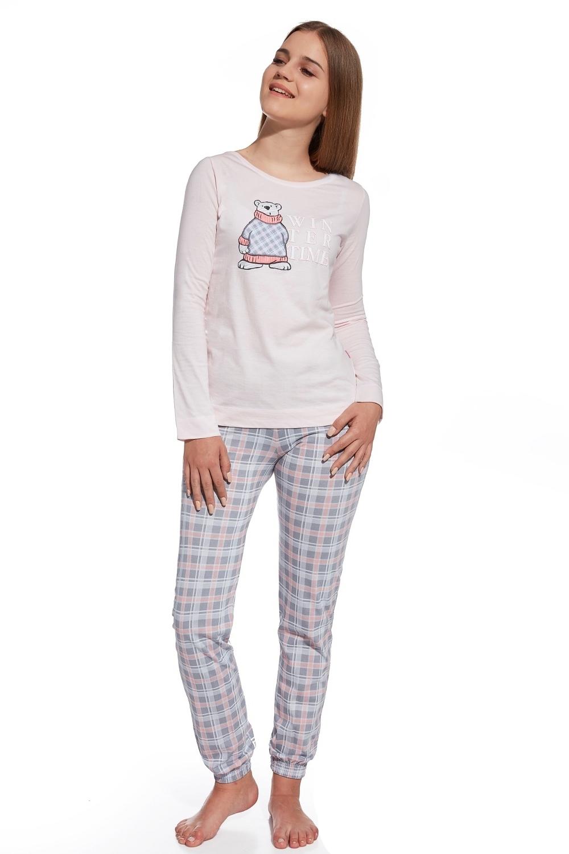 bad59ad25ffd Dievčenské pyžamo 291 26 Winter Time pink