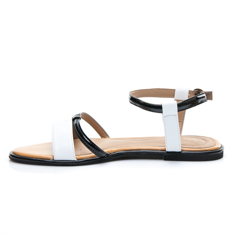 6ca806232bbf2 Dokonalé dámske biele sandále | AMIATEX.sk