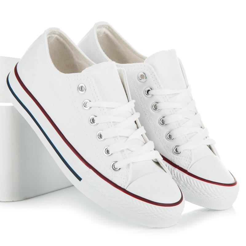 6dfea60434361 Dokonalé dámske biele tenisky | AMIATEX.sk
