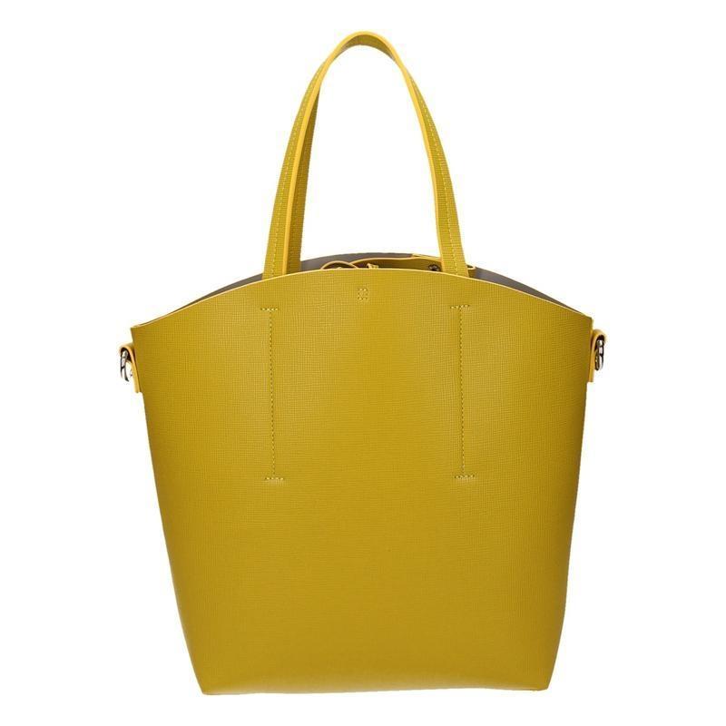 3152836e1 Elegantná dámska žltá kabelka s popruhom cez rameno | AMIATEX.sk