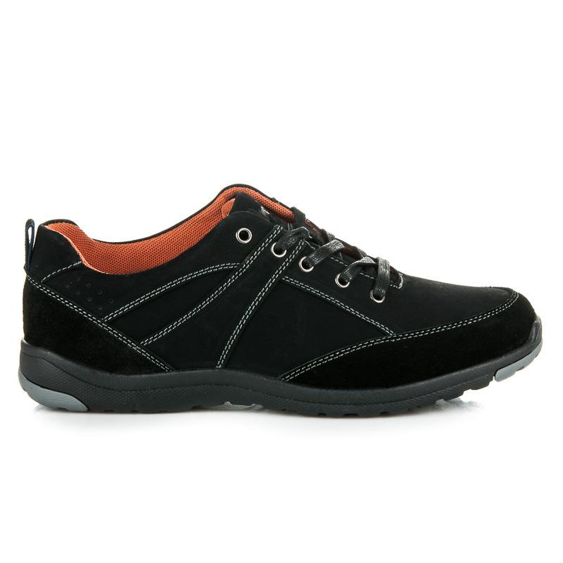 8a2f48668 Elegantné a športové čierne pánske botasky | AMIATEX.sk
