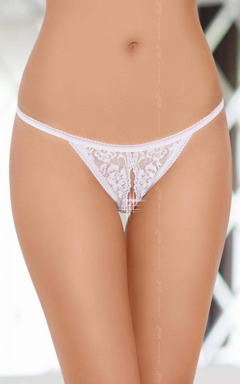 Erotické tangá 2227 white