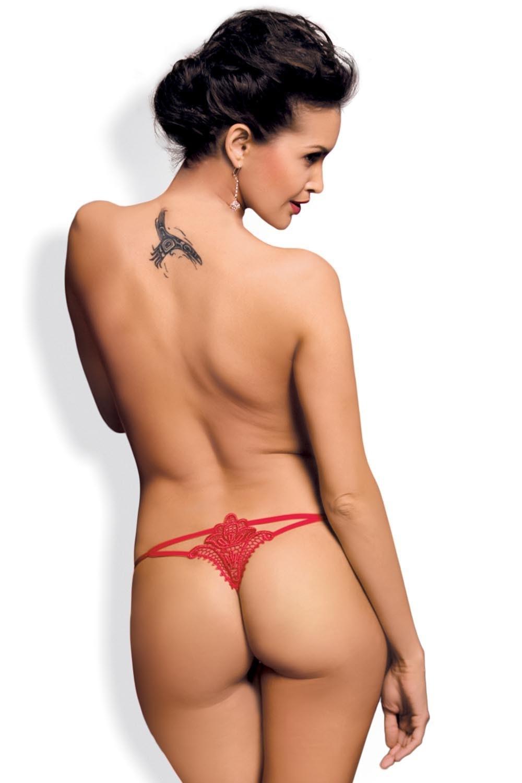 Erotické tangá Luiza thong red