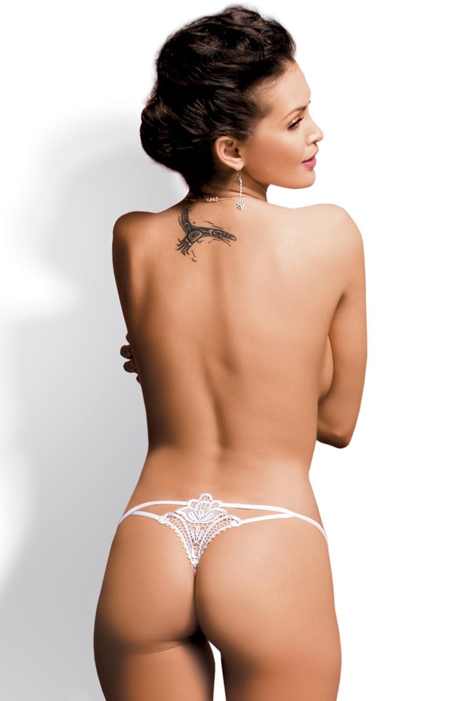 Erotické tangá Luiza thong white
