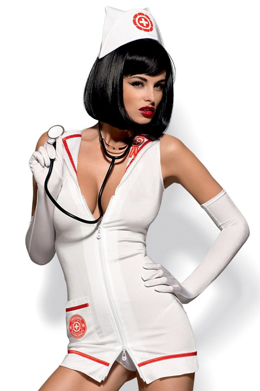 Erotický kostým Emergency dress + stetoskop