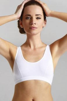 Fitness top  Sisi white