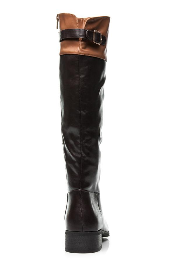 528f8c382b840 Hnedé luxusné dámske čižmy   AMIATEX.sk