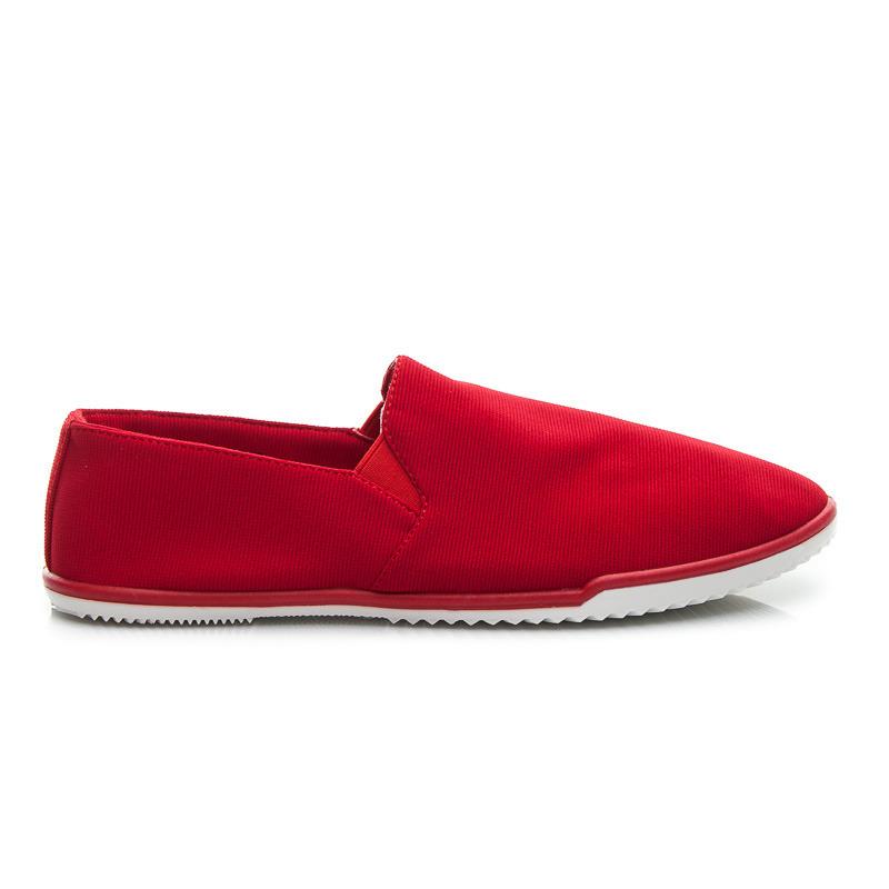 Jedinečné dámske tenisky - červené