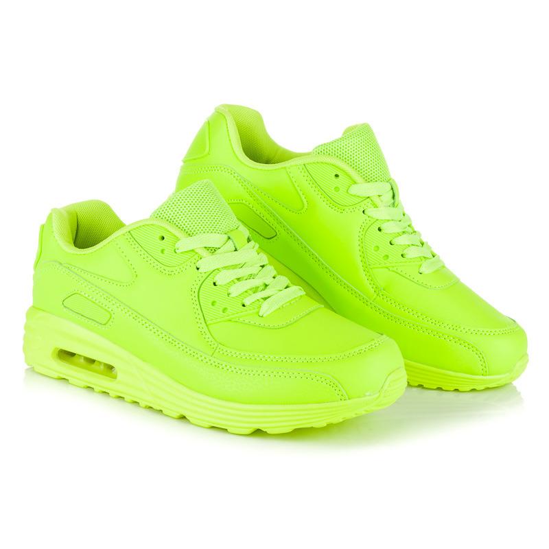 14b1a8a70 Jednoduché zelené dámske športové tenisky | AMIATEX.sk