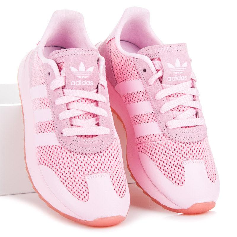 Klasické ružové dámske tenisky Adidas  1837343a922