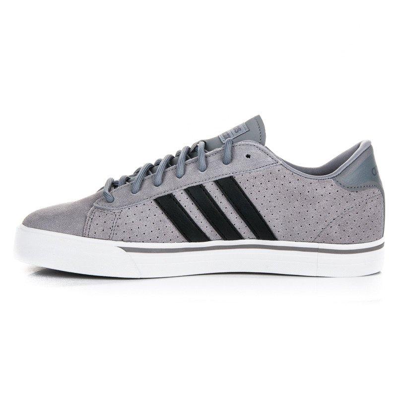 Kožené šedé pánske tenisky značky Adidas  aa01178db9