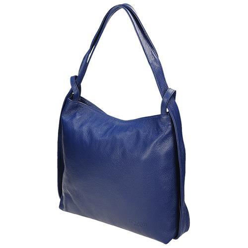 e8bdae7e3 Krásna modrá kožená kabelka cez rameno | AMIATEX.sk
