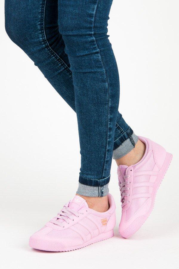 Krásne ružové textilné tenisky zn.Adidas