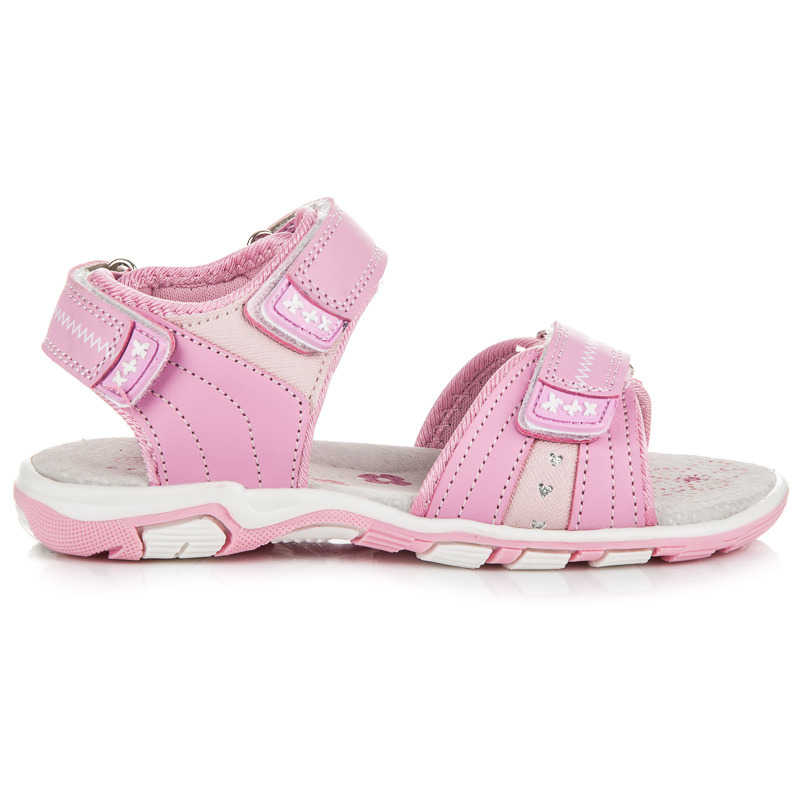 f027d59fb35a Luxusné ružové dievčenské sandále