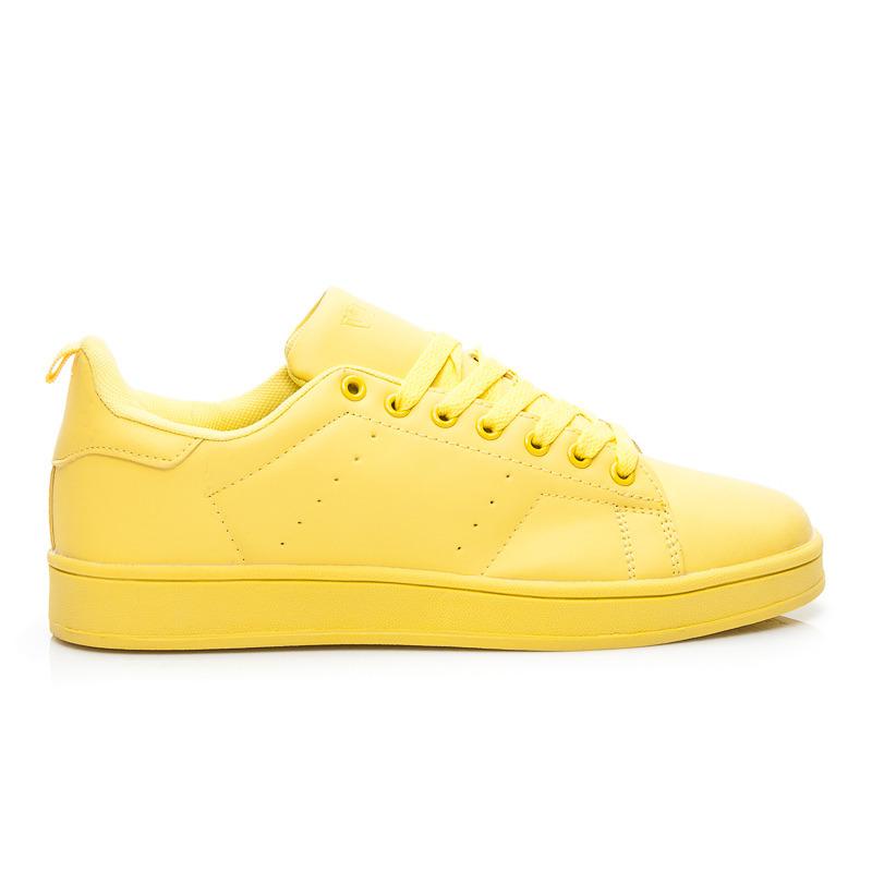 d7c1f4e07f Moderné dámske tenisky - žlté
