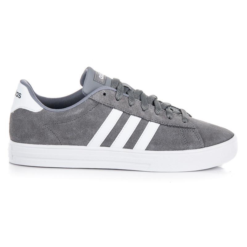 8f294d722 Moderné šedo-biele pánske tenisky Adidas   AMIATEX.sk