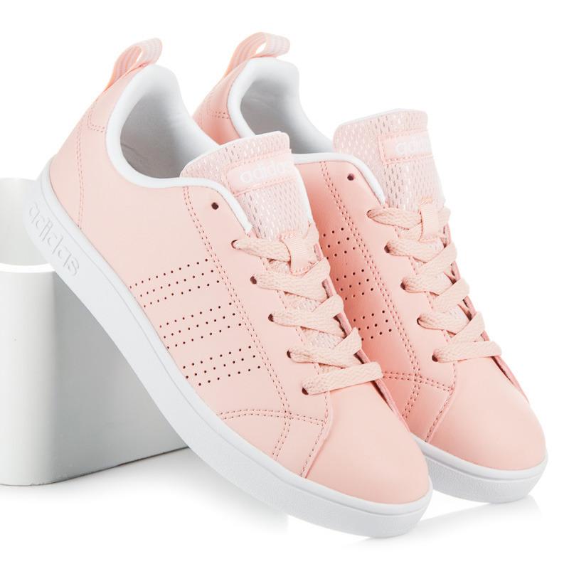 fd048b422 Módne ružové tenisky na šnurovanie Adidas | AMIATEX.sk