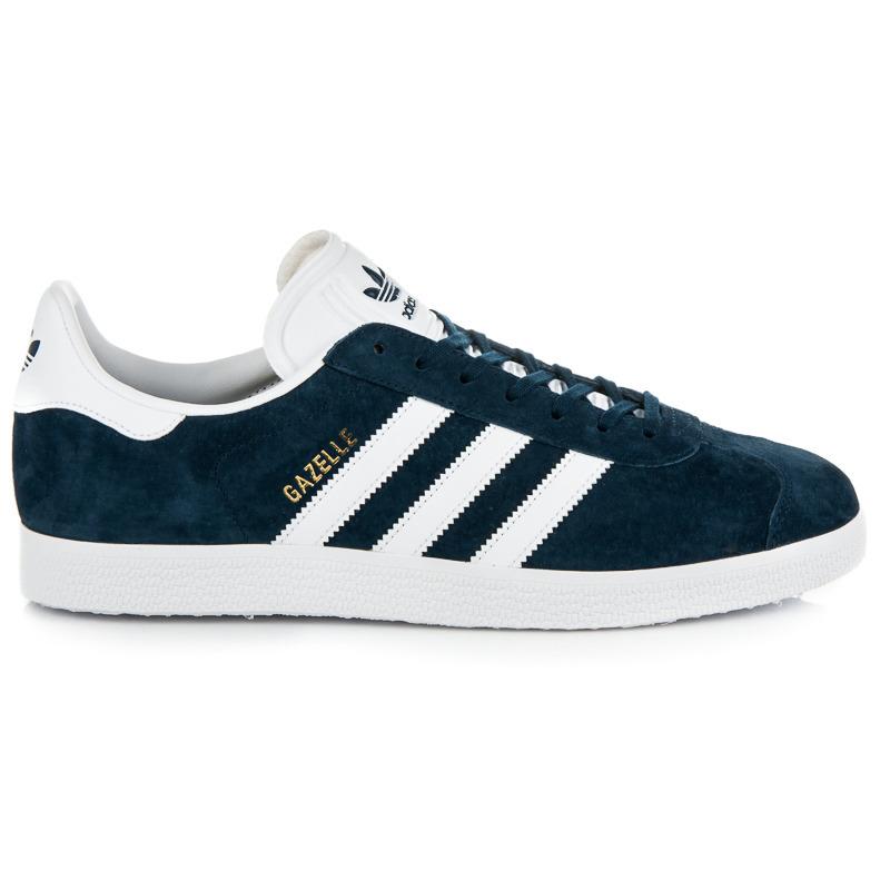 d831e3ea47 Módnu a pohodlné modré pánske tenisky Adidas
