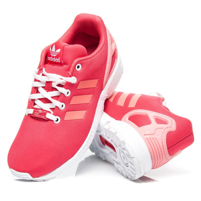 Neodolateľné červené dámske tenisky Adidas  a4c1cffbbb6