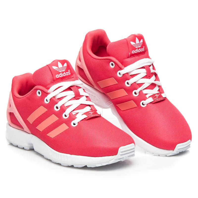 Neodolateľné červené dámske tenisky Adidas  6a48394aec