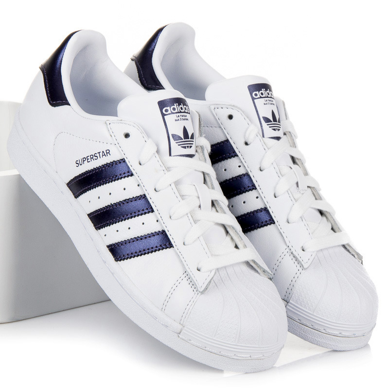 Originálne biele tenisky Adidas Superstar W  b5e49b31bf3