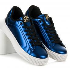 e8aa9777292c Originálne modré tenisky na platforme