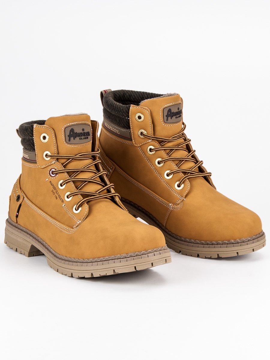4e6fad61de AMERICAN CLUB Pánske členkové topánky 708121C