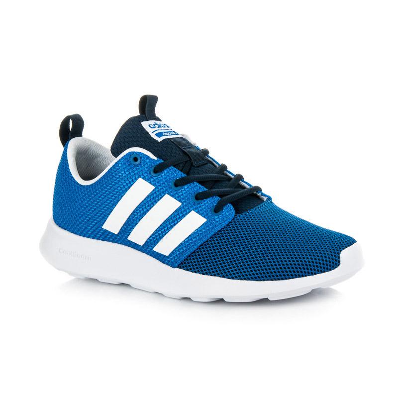 cc26559f94 Pánske modré tenisky Adidas cloudfoam swift racer