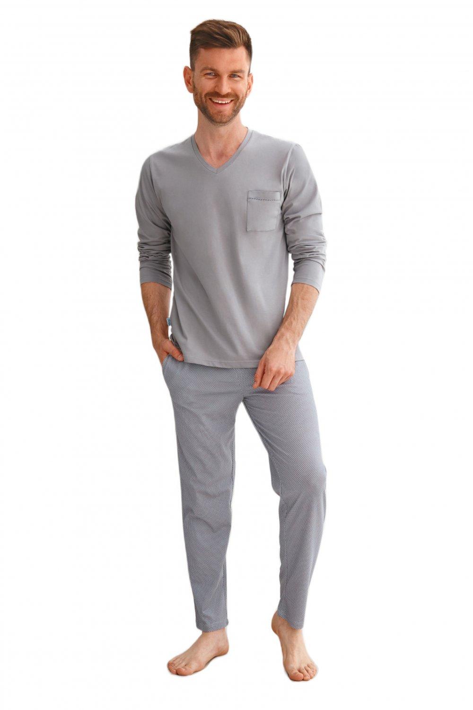 Pánske pyžamo 2638 grey