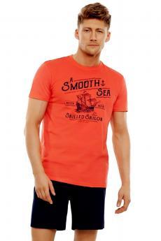 94479b97bb43 Pánske pyžamo 35738 coral