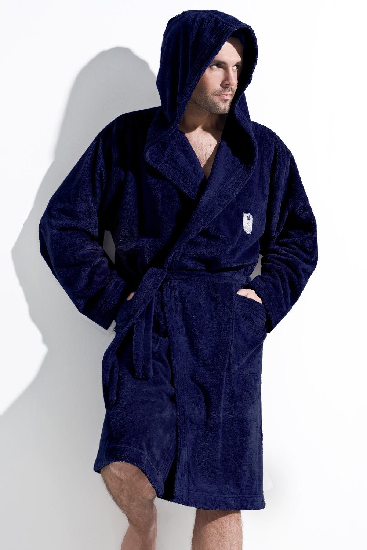Pánsky župan Iwo dark blue