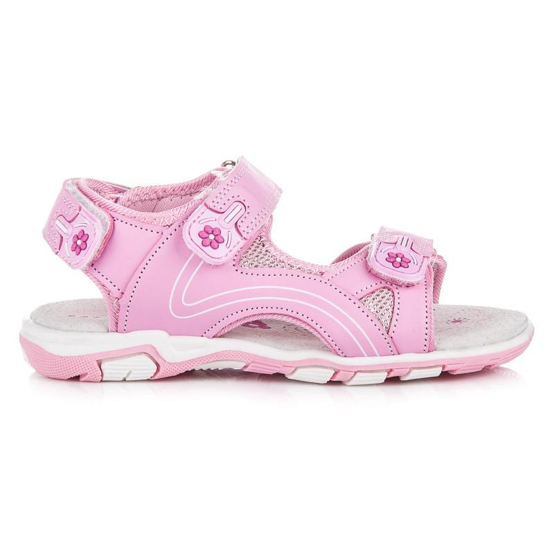 cda21493c5f6 Parádne ružové dievčenské sandálky