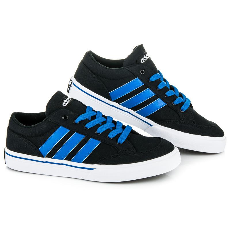 Pohodlné čierne pánske športové tenisky Adidas  ed914806b00