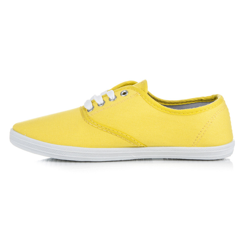 bd3dcc289014 Pohodlné žlté tenisky na jar i leto